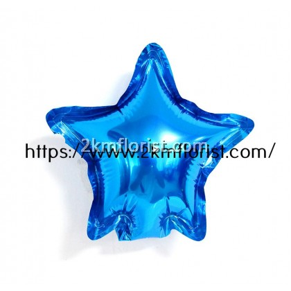 10Pcs 5Inch Heart Star Foil Balloon Inflatable Birthday Party Balloons