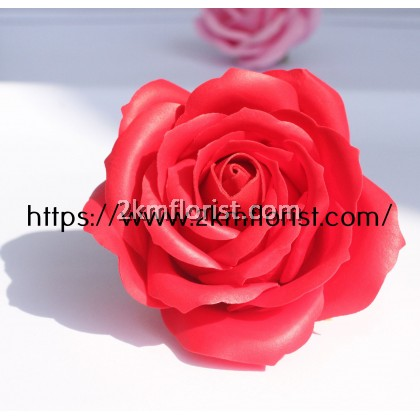 25pcs Rose Soap Flower 5 Layer With BASE BARE
