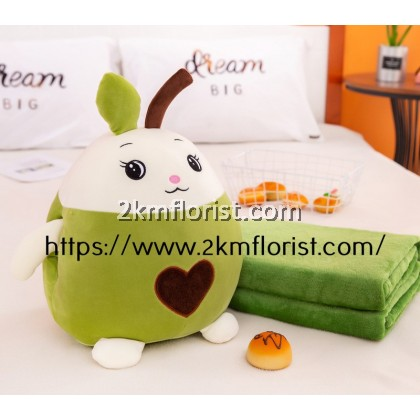 3 in 1 Colorful Cartoon Cushion Pillow Blanket