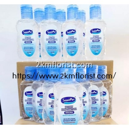 192 BOTTLES  Scent Pur Instant Hand Sanitizer Hand Sanitiser 50ml Instant Hand Sanitiser